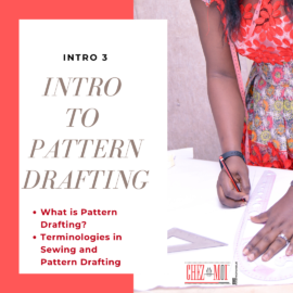 Introduction to pattern drafting