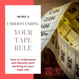 understanding your tape rule